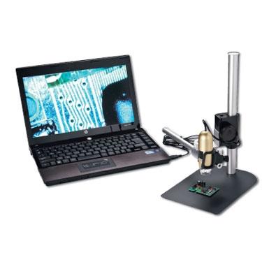 Kính hiển vi có cổng kết nối với máy tính
